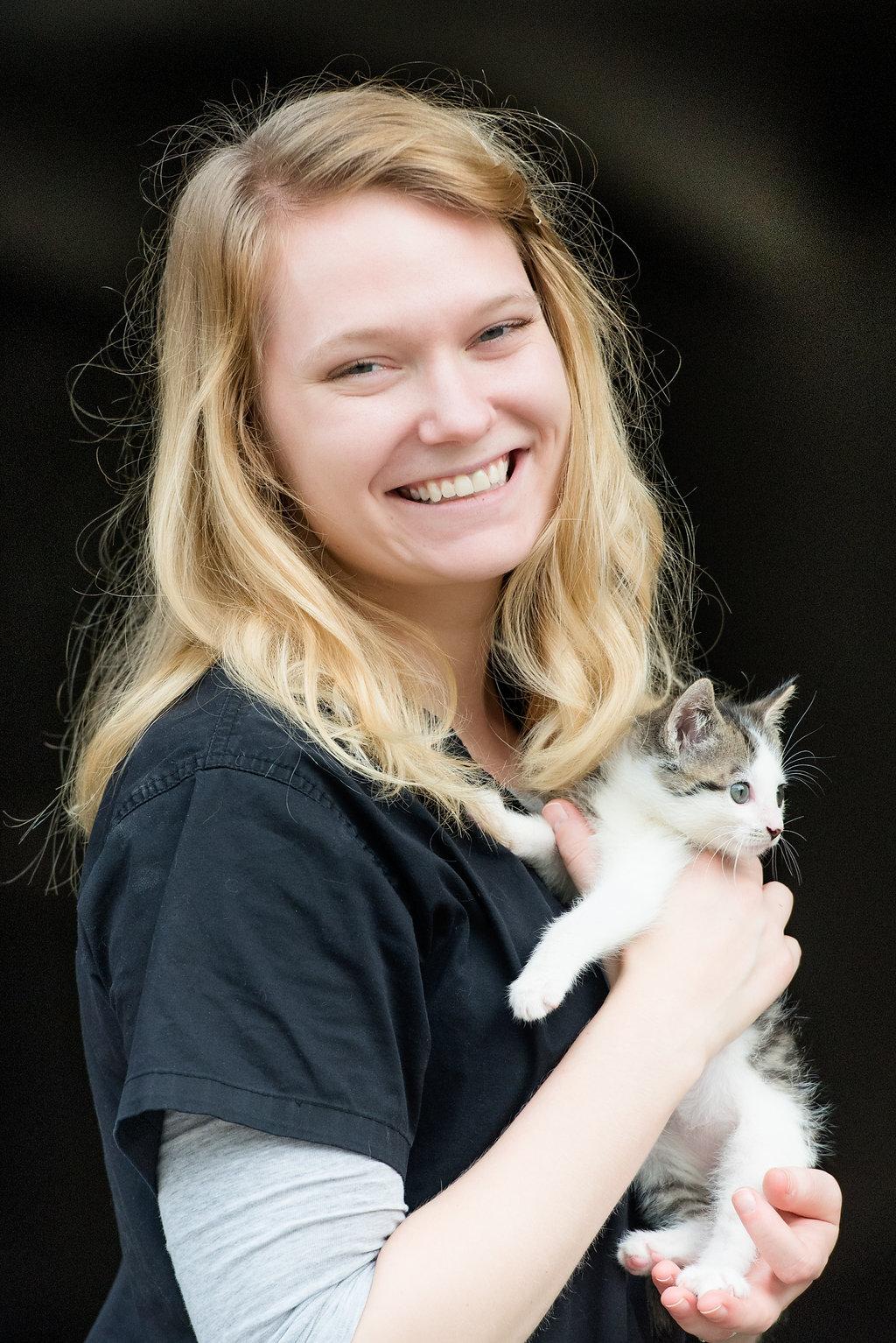 Lena Ribbey   Veterinary Assistant