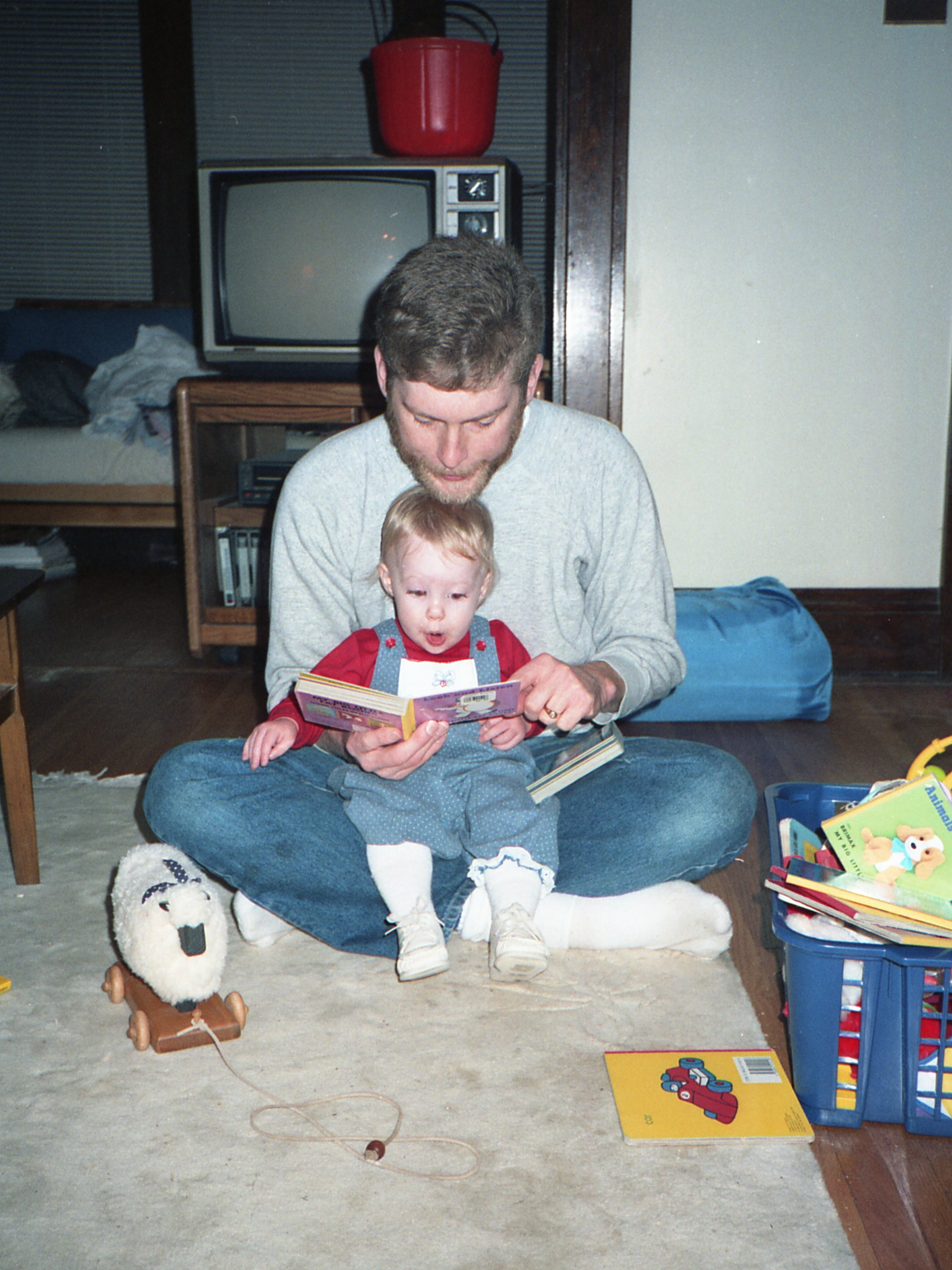 My dad and me. 1987.