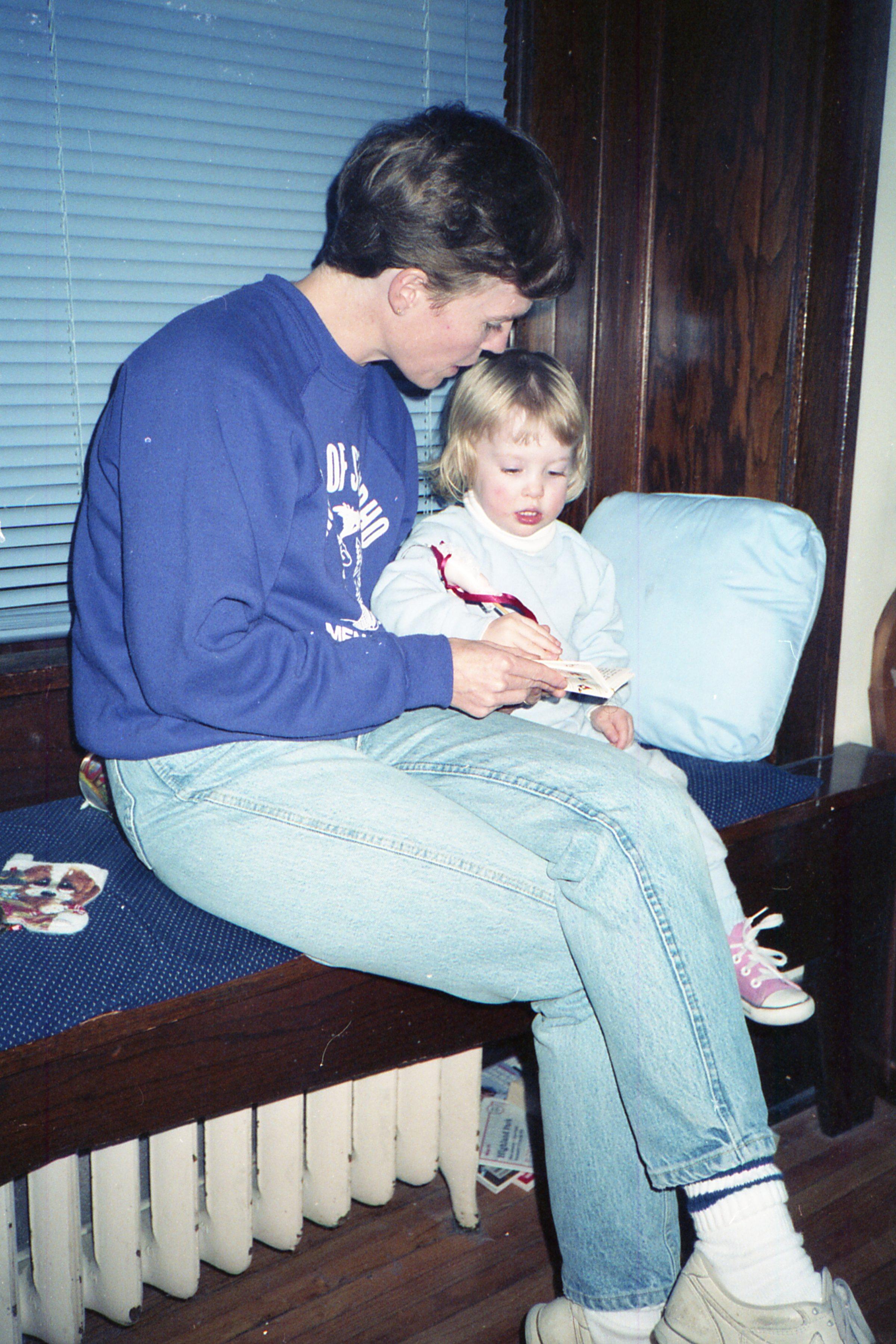 Me and my mom circa 1988.