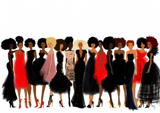 Parisian illustrator   Nicholle Kobi  brings Black beauty to life in her illustrations and sketches. Kobi's minimalist illustrations highlight the beauty and diversity of Black women's hair, skin, and bodies.   Read more: http://theculture.forharriet.com/2015/09/french-artist-nicholle-kobi-brings.html#ixzz4tX9zYaSf  Follow us: @ForHarriet on Twitter | forharriet on Facebook