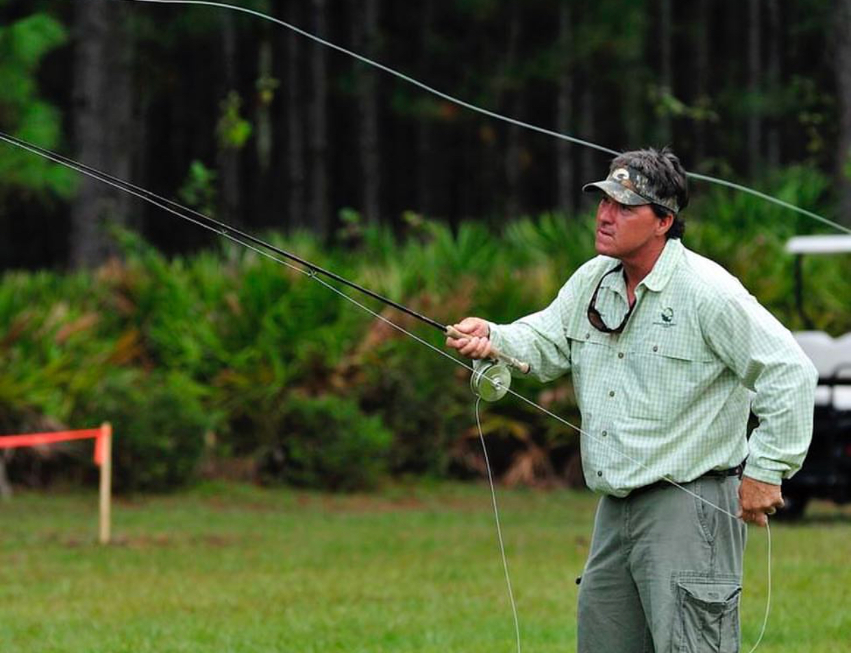 "Fly-Fishing Demo  USF Seminar: ""Bulls Blast"""