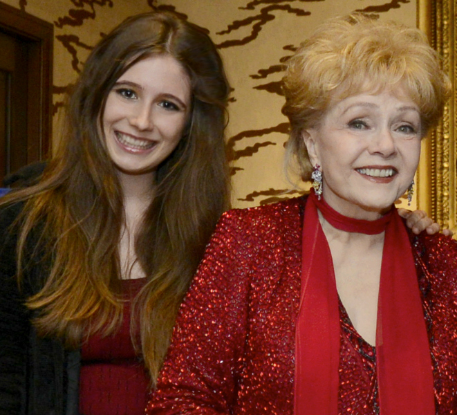 Solene with Debbie Reynolds.jpg