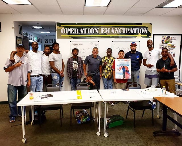Thank you @connectiveinc for coming out to have a man to man talk with our male participants today for our Plan Up Man Up Stand Up workshop!  These adult mentors are having a passionate discussion, offering guidance on how to be responsible, be a leader, and be man of your word.
