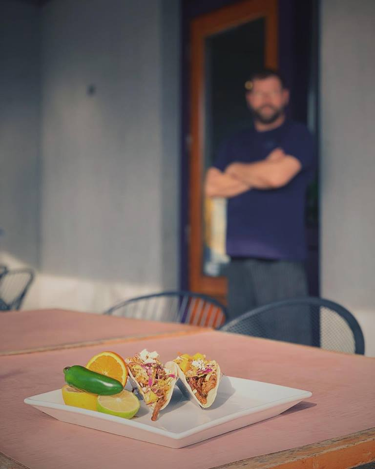 Smoked Carnitas Bohemian Taco