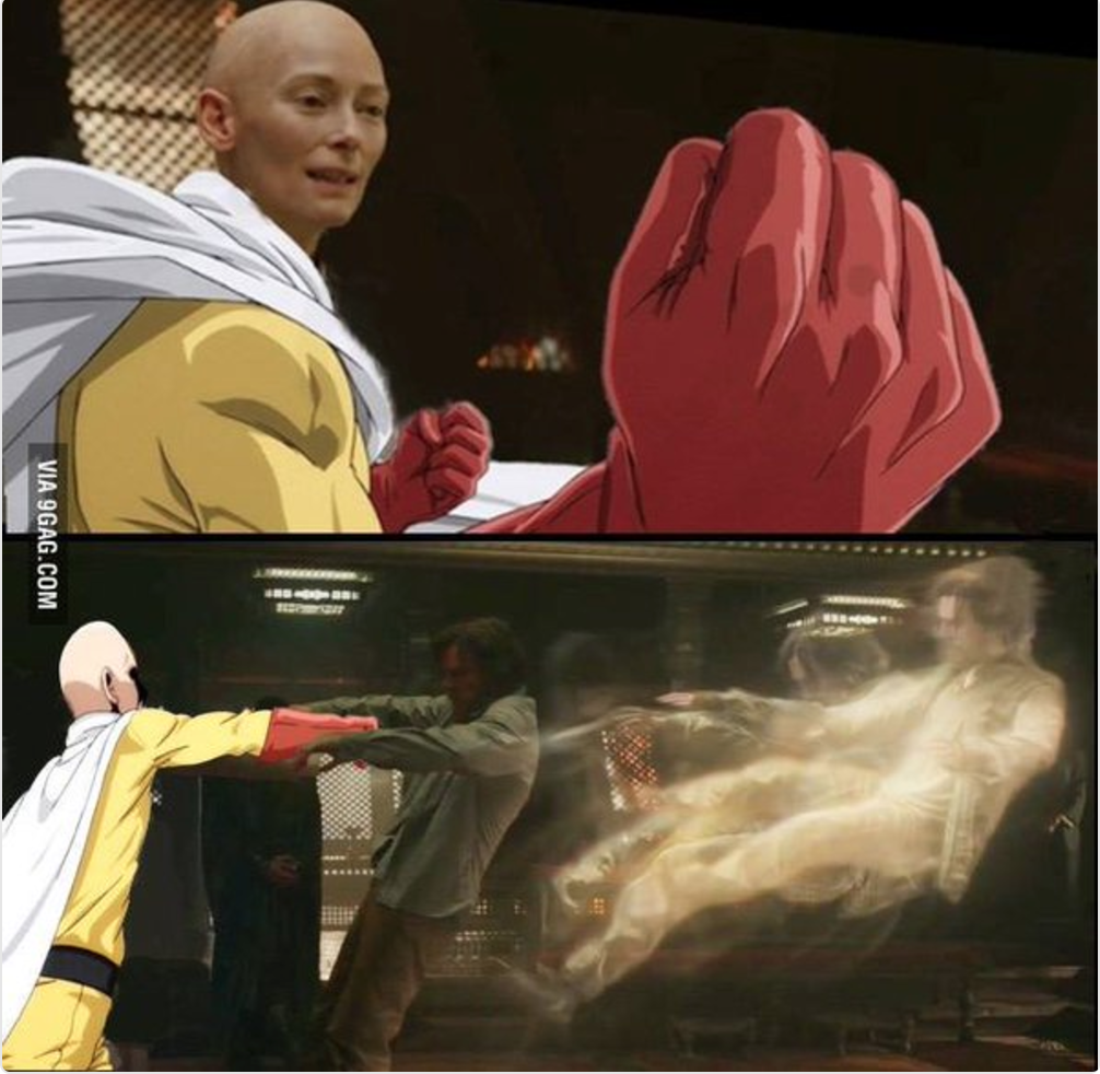 Dr. Strange aka One Punch Man: Origins