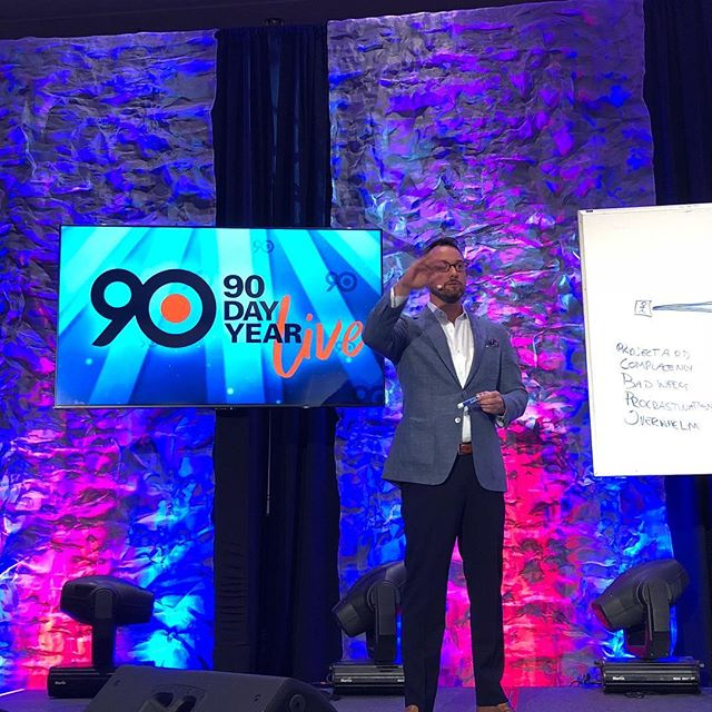@todd_herman and #90dayyearlive are freaking unforgettable. I will never forget the day when Todd invited me to speak and when I got a standing ovation from a ball room of entrepreneurs #inforgettable #ilovetoddherman #cantwaitfornextyear