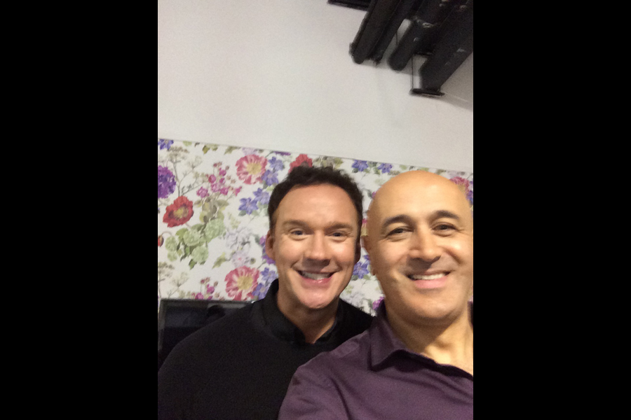Selfie with Russell Watson