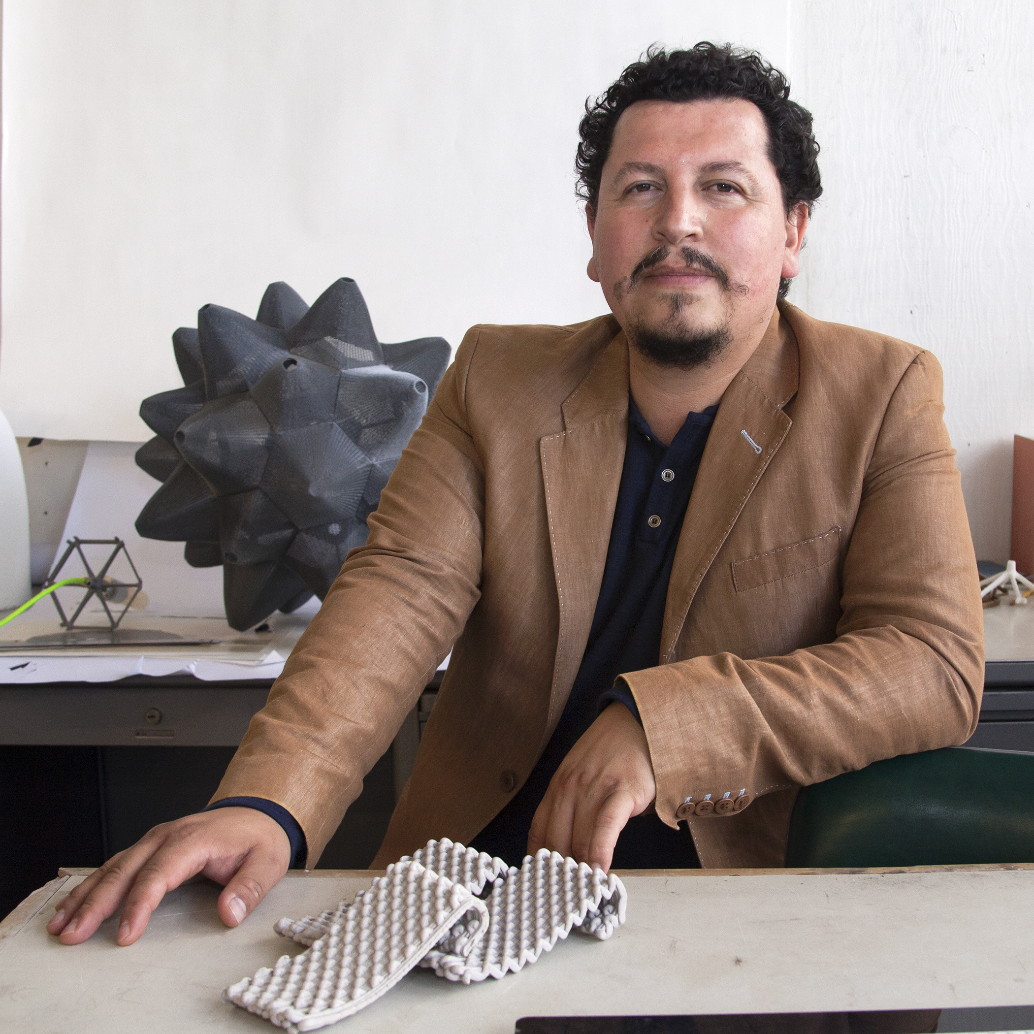 Ron Rael - UC Berkeley   UC Berkeley professor and business man, Ron is the current CEO of  Emerging Objects  and is on a mission to 3D print in a BIG way for home and living spaces. 3D Printing with ceramics, plastics, recycled tires and more, he has a vision of how 3D printers will impact architecture and is working daily to make that vision our reality. He dreams of riding a motorcycle across Bolivia some day.