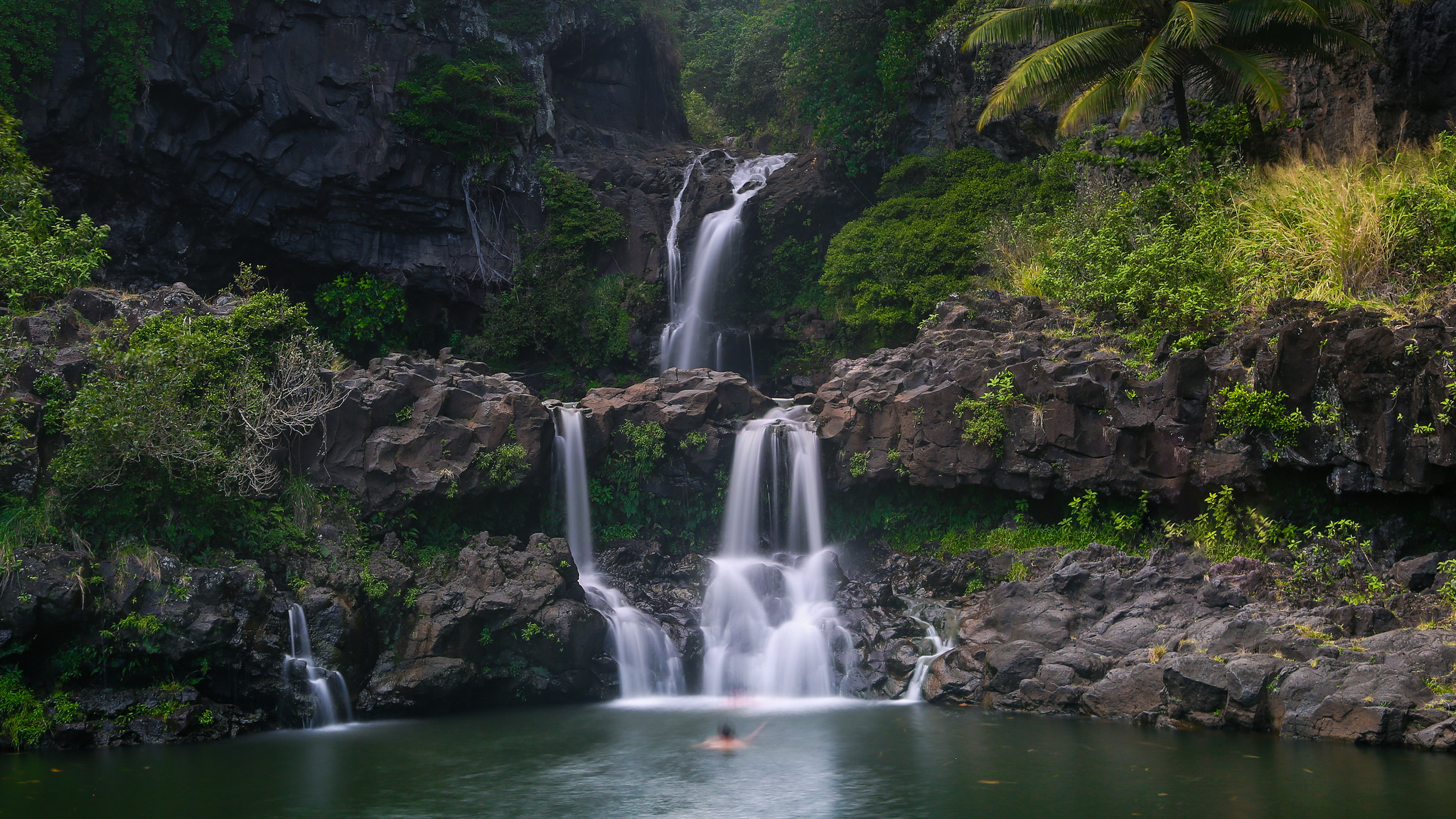 Seven Sacred Pools at Ohe'o | Photo by Joe Parks