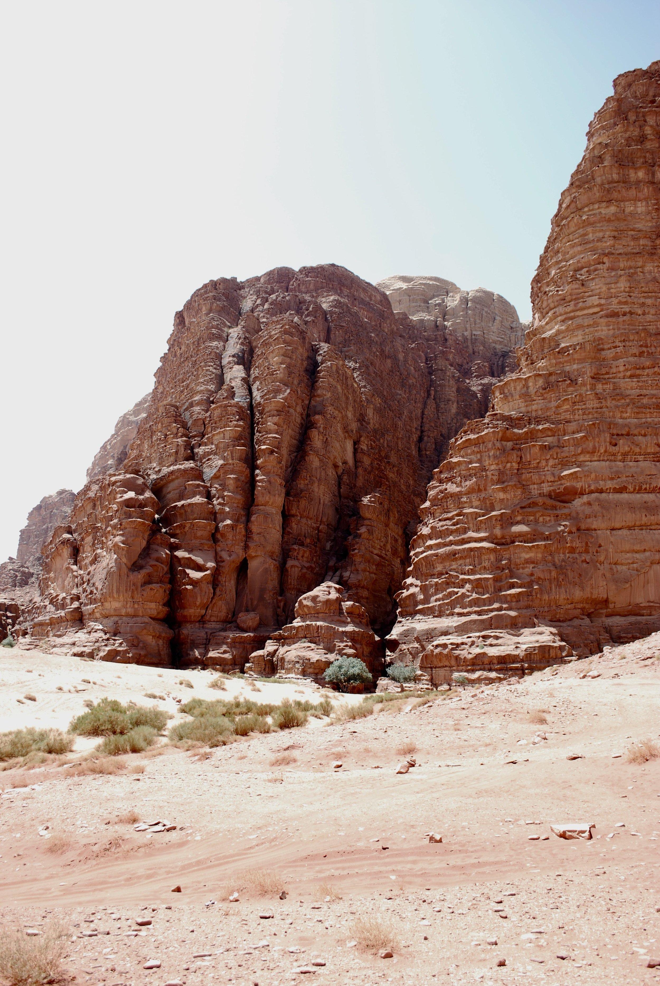 Entrance to Khazali Canyon, Wadi Rum