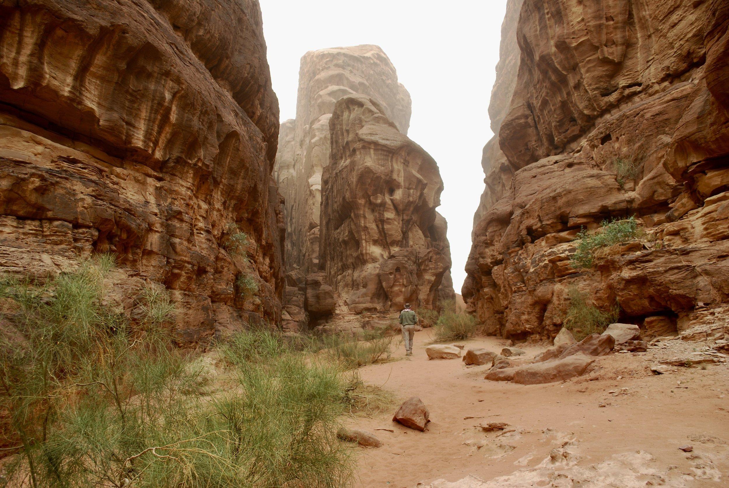 Inside Abu Khashaba Canyon