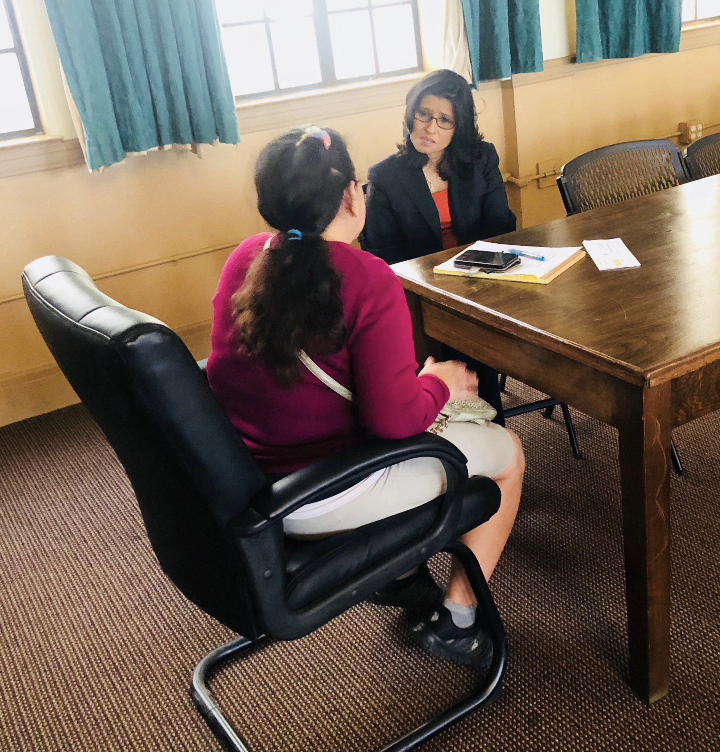 Interviews for the Single-Parent Utility Relief Program (2018-2019)