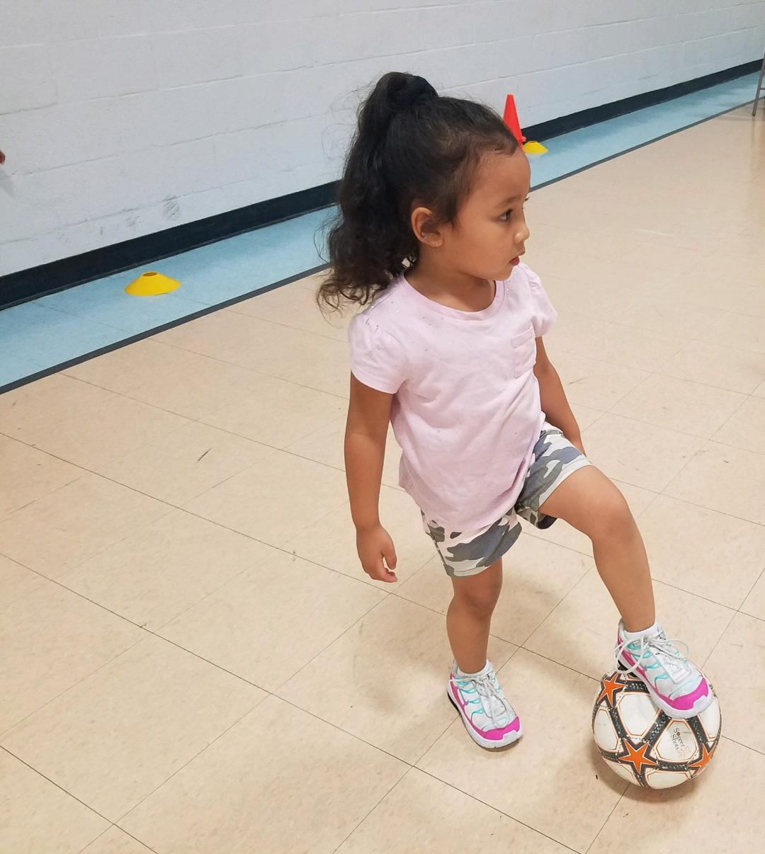 Soccer Shots Lesson