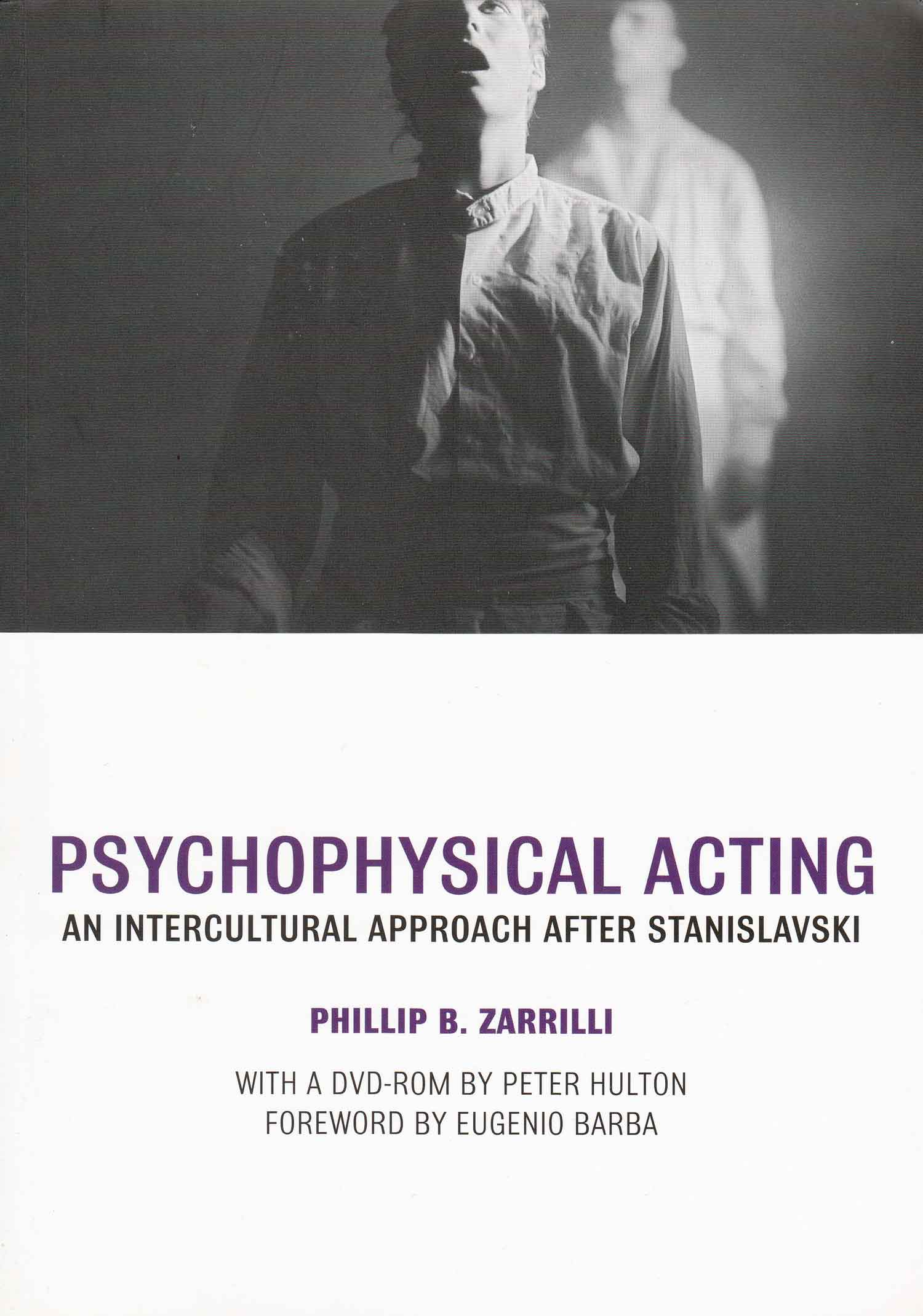 Cover of  Psychophysical Acting , published by Routledge (2009).