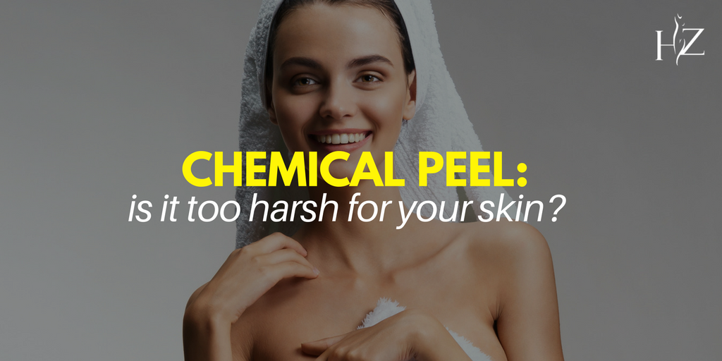 are chemical peels too harsh for my skin, chemical peel orlando