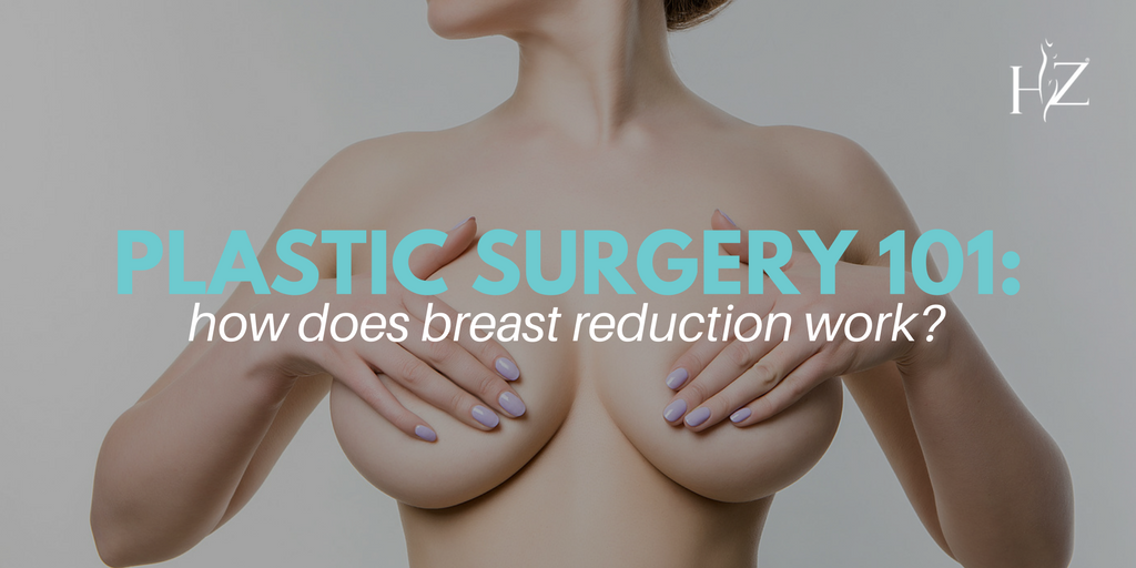 breast reduction surgery, breast reduction incision, breast reduction procedure