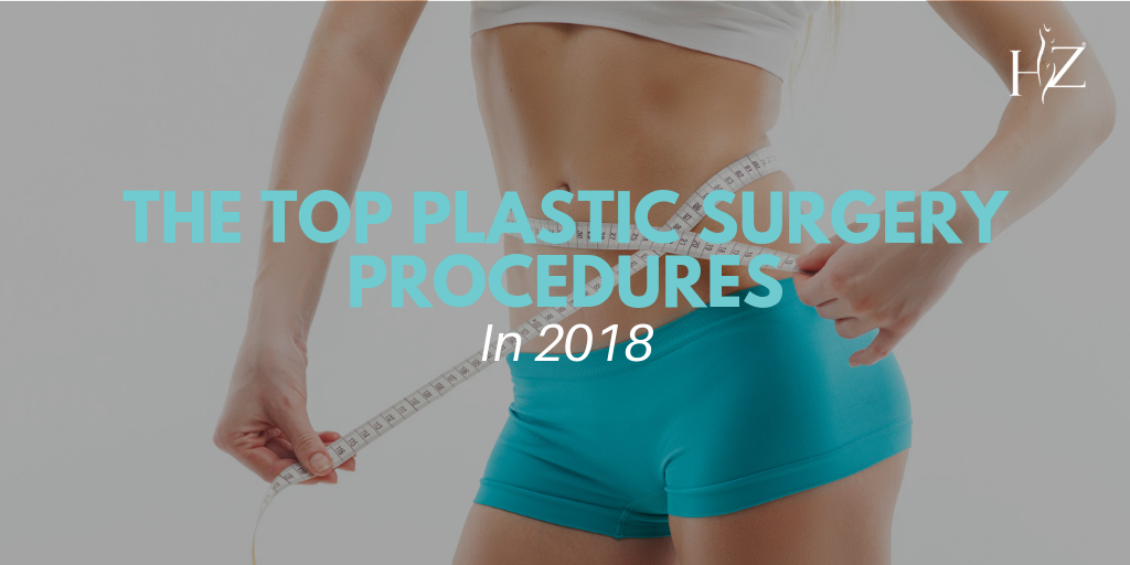top plastic surgery procedures in 2018, most common plastic surgery procedures, rhinoplasty, breast augmentation, plastic surgery orlando