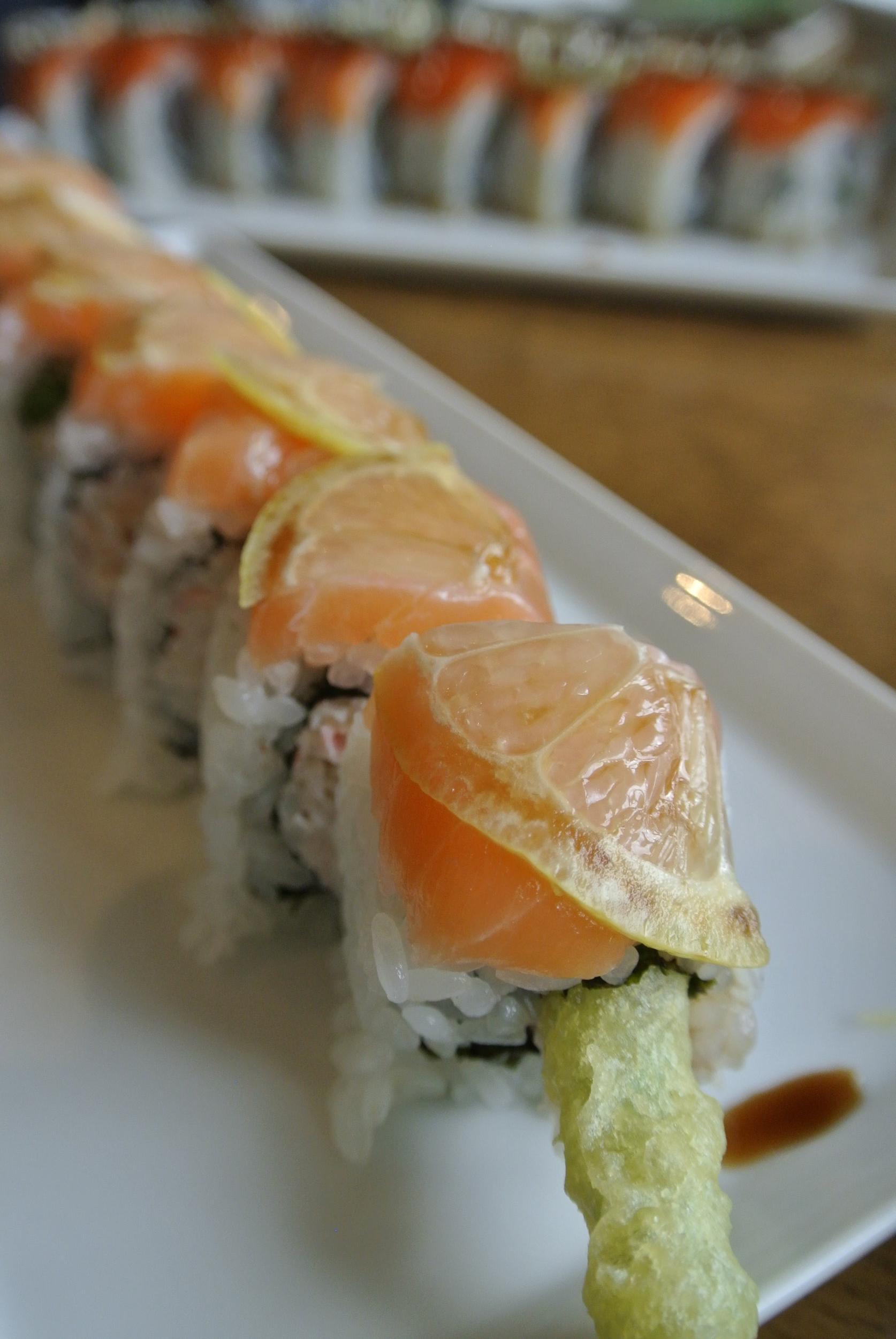 MENU — Sushi Blue