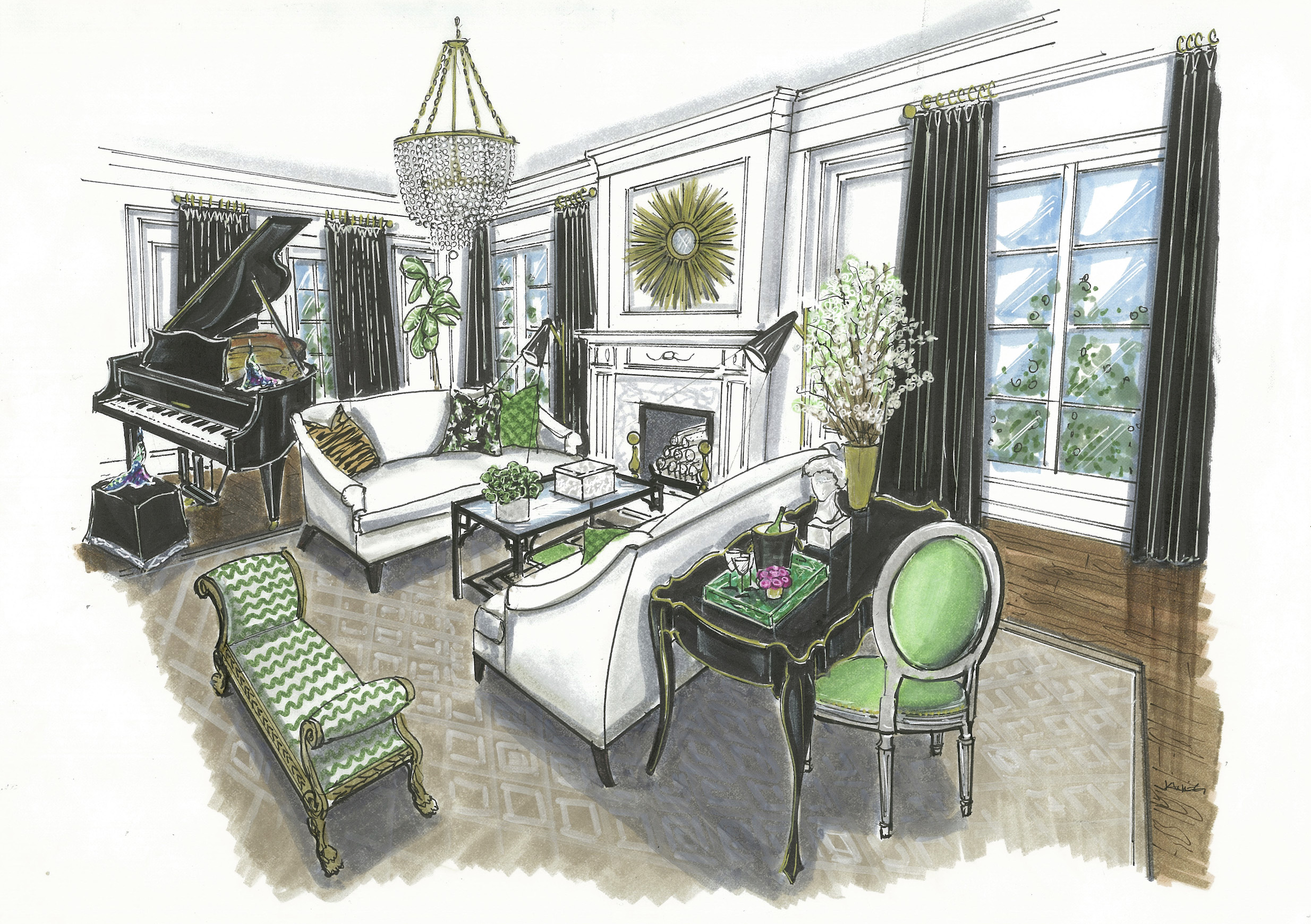Pamela Harvey Interior Design | The Washington D.C. Design House