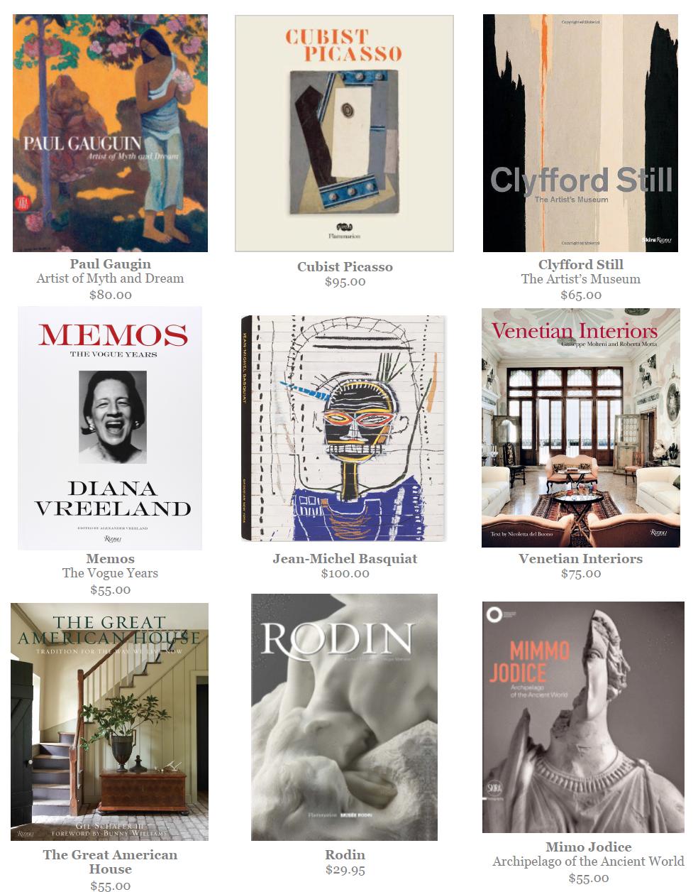 Amy Meier Design - Book Selection