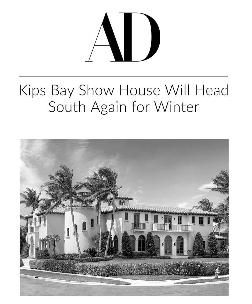 2019 Kips Bay Show House - Palm Beach