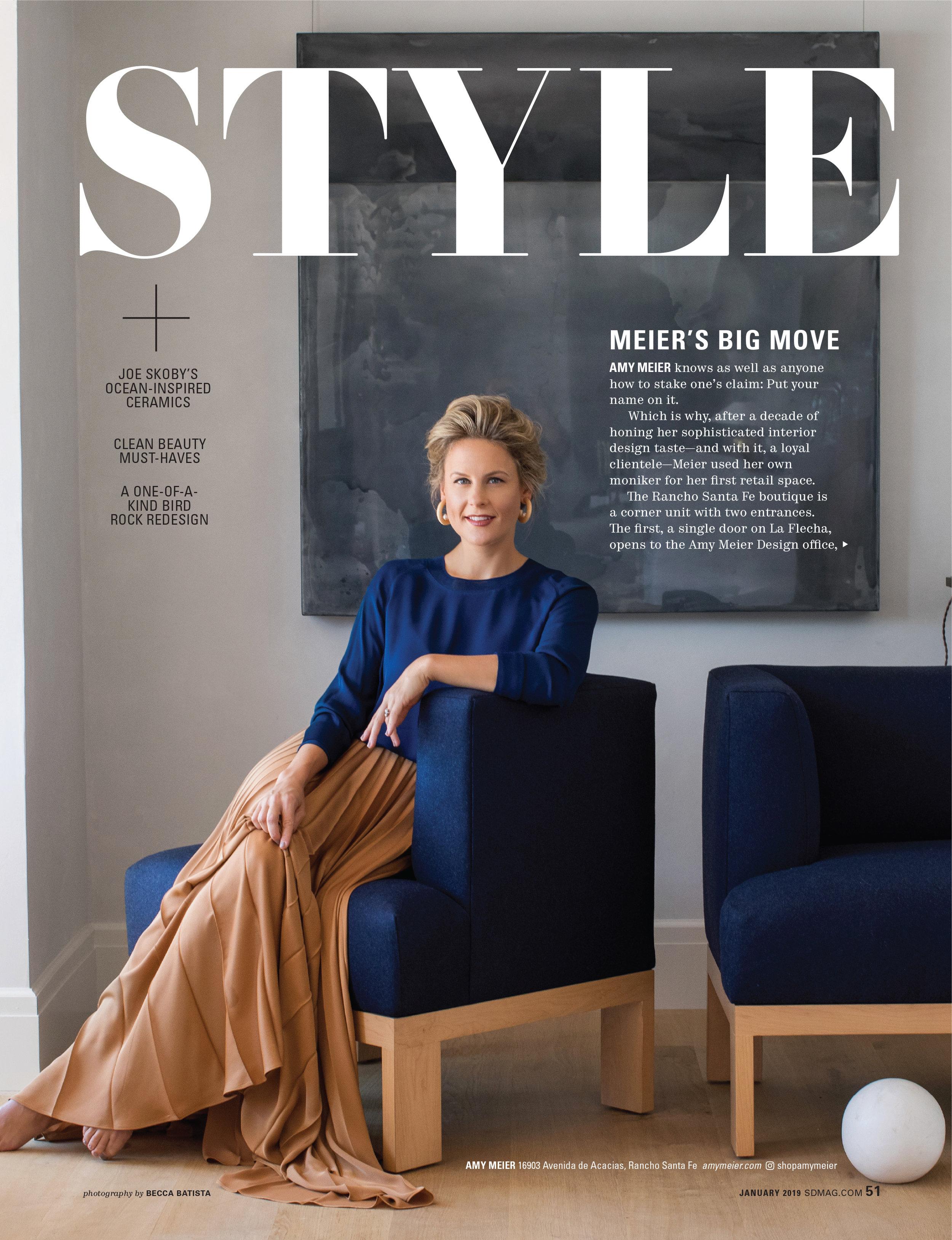 San Diego Magazine Jan 2019