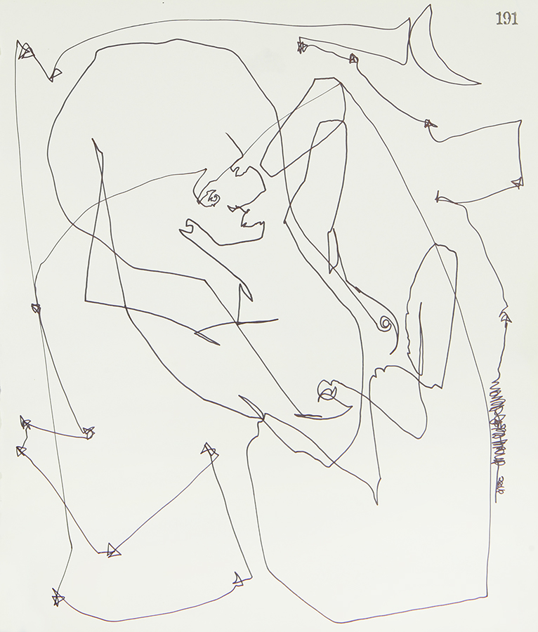 Continuous Line Series #191 (SOLD)