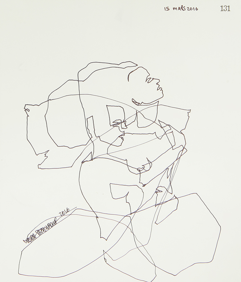 Continuous Line Series #131 (SOLD)