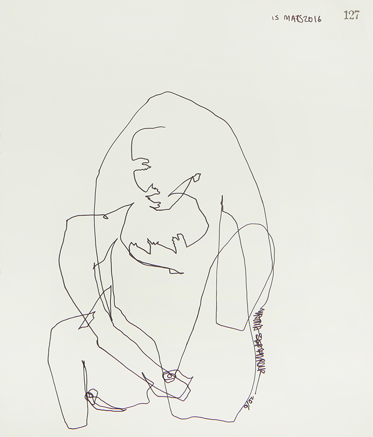 Continuous Line Series #127 (SOLD)