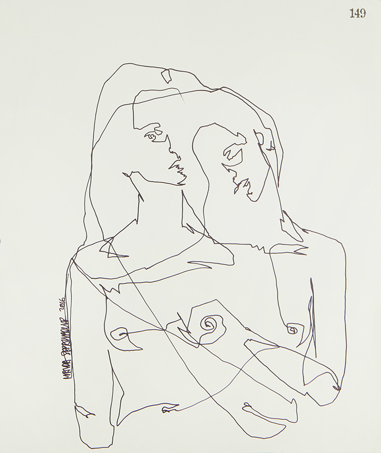 Continuous Line Series #149 (SOLD)