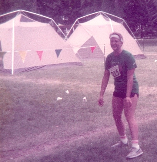 The crowds, bananas and Gatorade were all gone when I crossed the finish line, second from last, at the Sweet Pea Triathlon In Bozeman, MT in 1984.