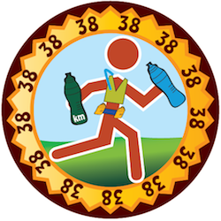 Run Streak Day 38: Bottles, belts and vests make it easy to stay hydrated!