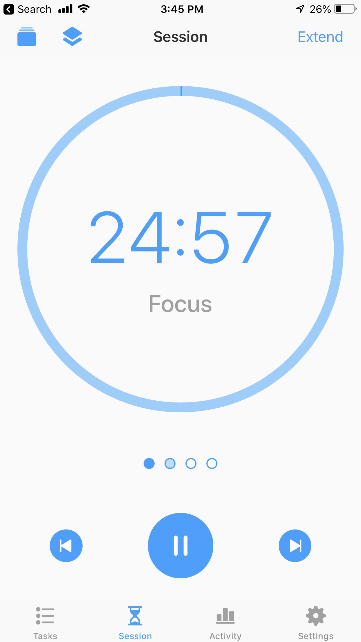 Focus Session