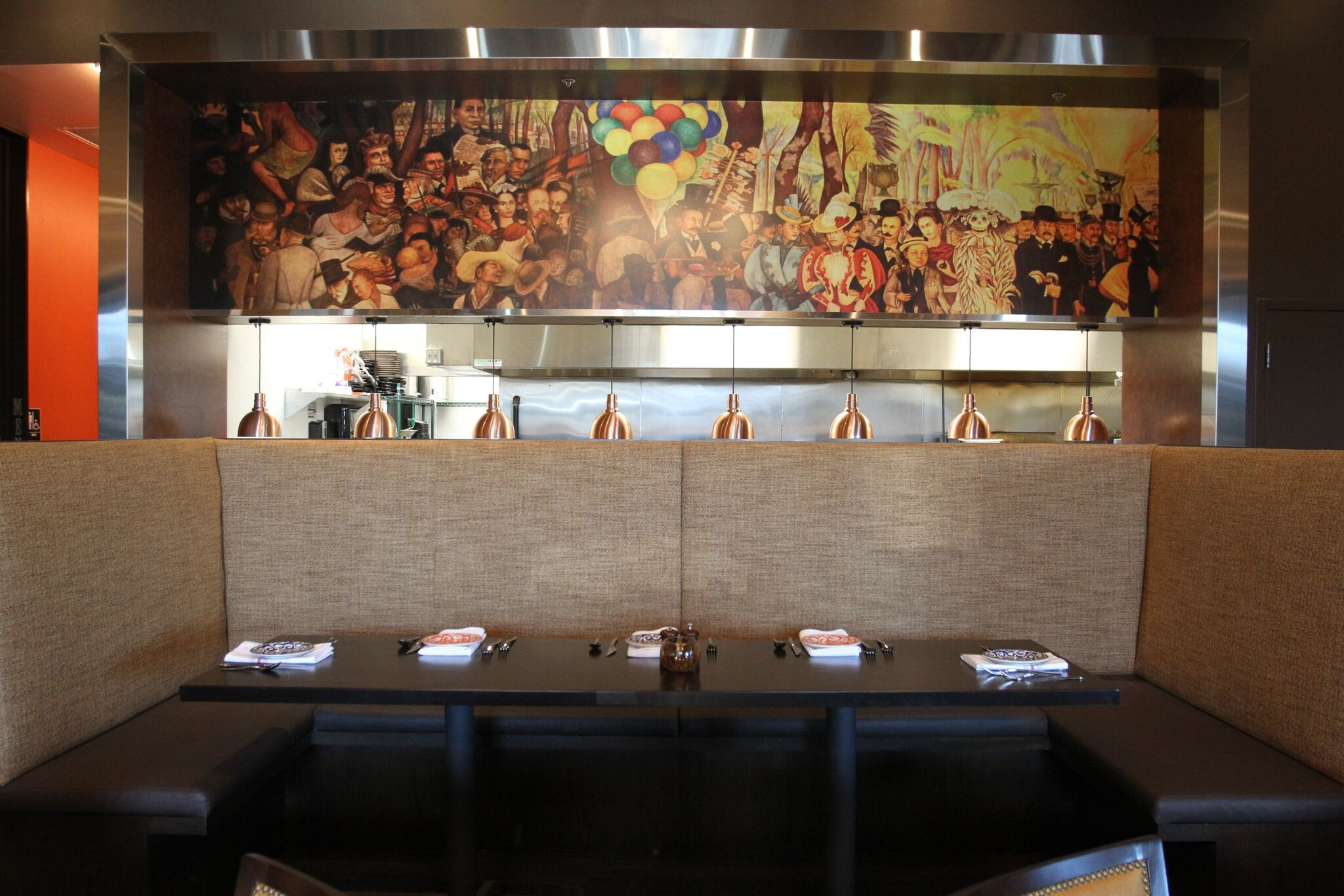 BRUNCH MENU for West Des Moines Restaurant Blu Toro Cantina + Grill Open Kitchen