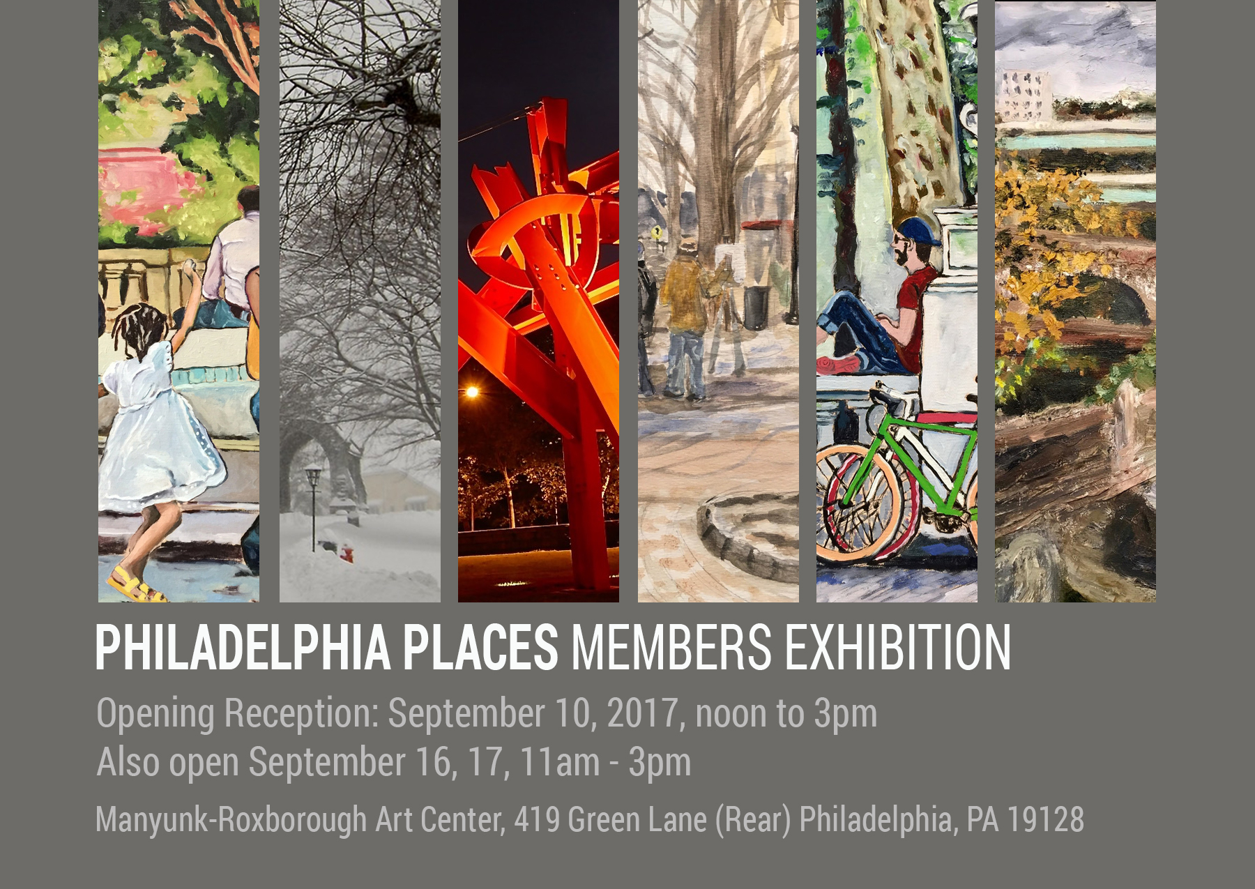 Join me at the Manayunk Art Center on Sunday September 10. Noon-3pm