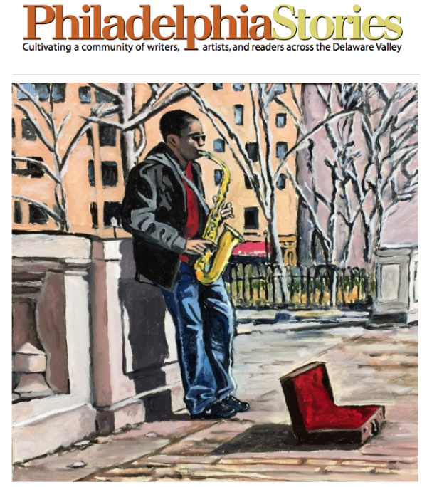 """""""Music in Rittenhouse Square."""" 12x12 inches. Oil on Canvas Panel."""