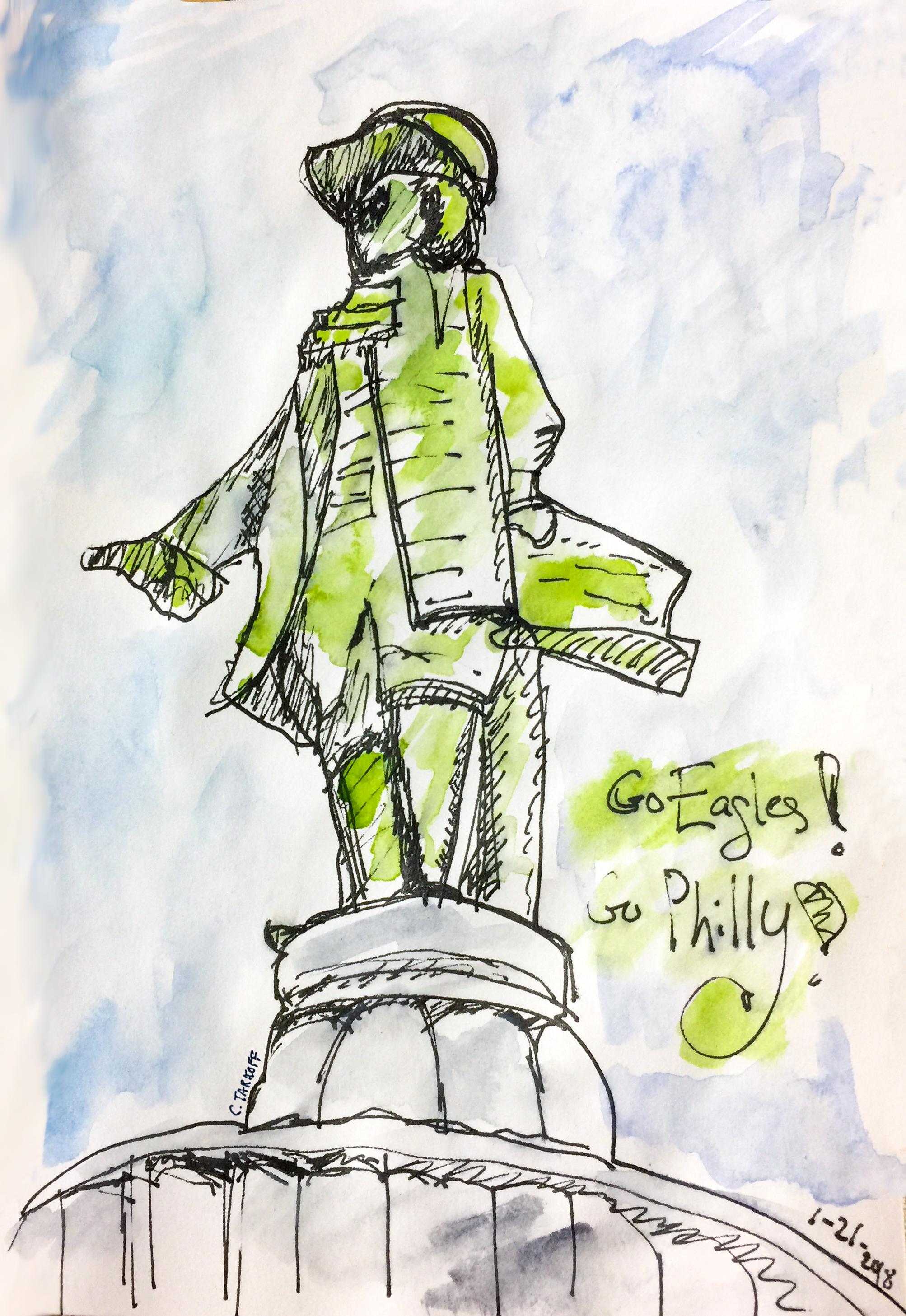 Billy Penn - Go Eagles!