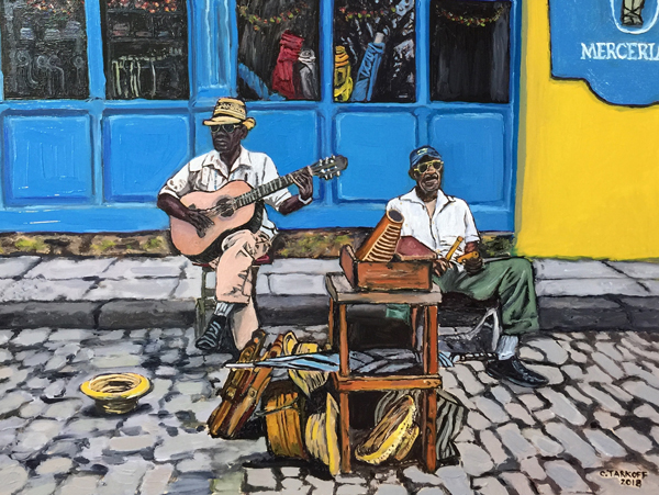 Music at the Merceria - Old Havana, Cuba