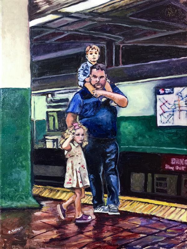Waiting at Suburban Station