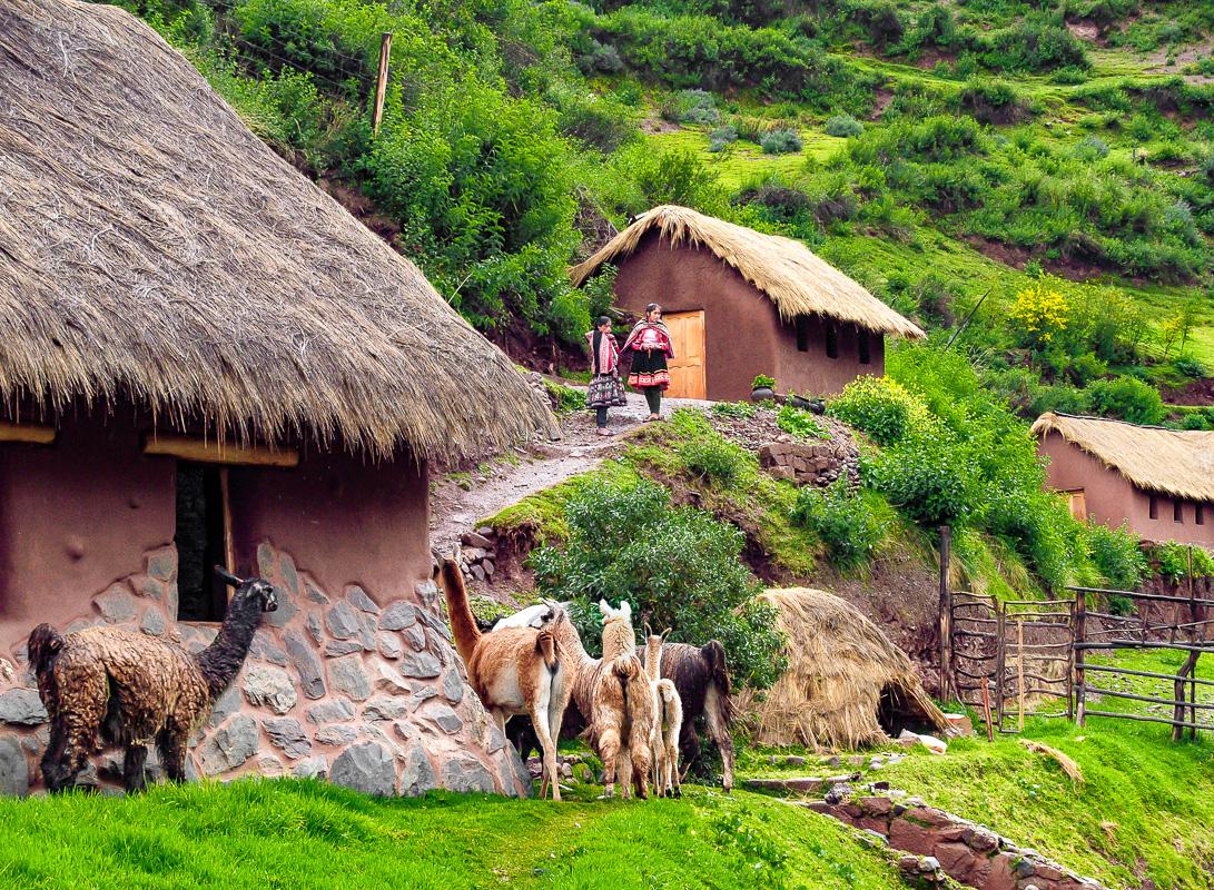 Awanakancha Village View, Cusco, Peru