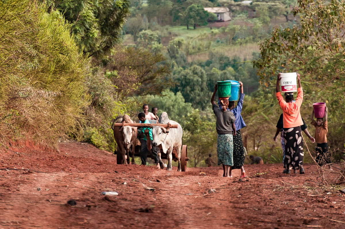 Children in Ngorongoro, Tanzania