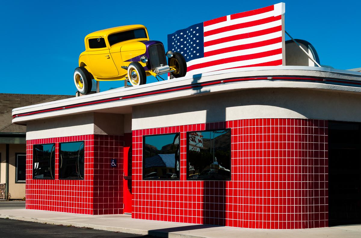 Dusty Burger, Wenatchee, Washington