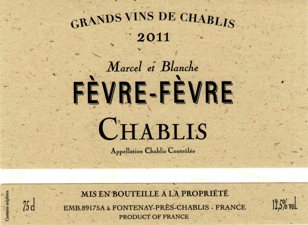This Chablis has lovely notes of smoke, gunflint, citrus and white peaches. It shows richness and depth for a village level wine. Layers of fruit build to the lingering, lengthy finish. This is a balanced, harmonious Chablis!