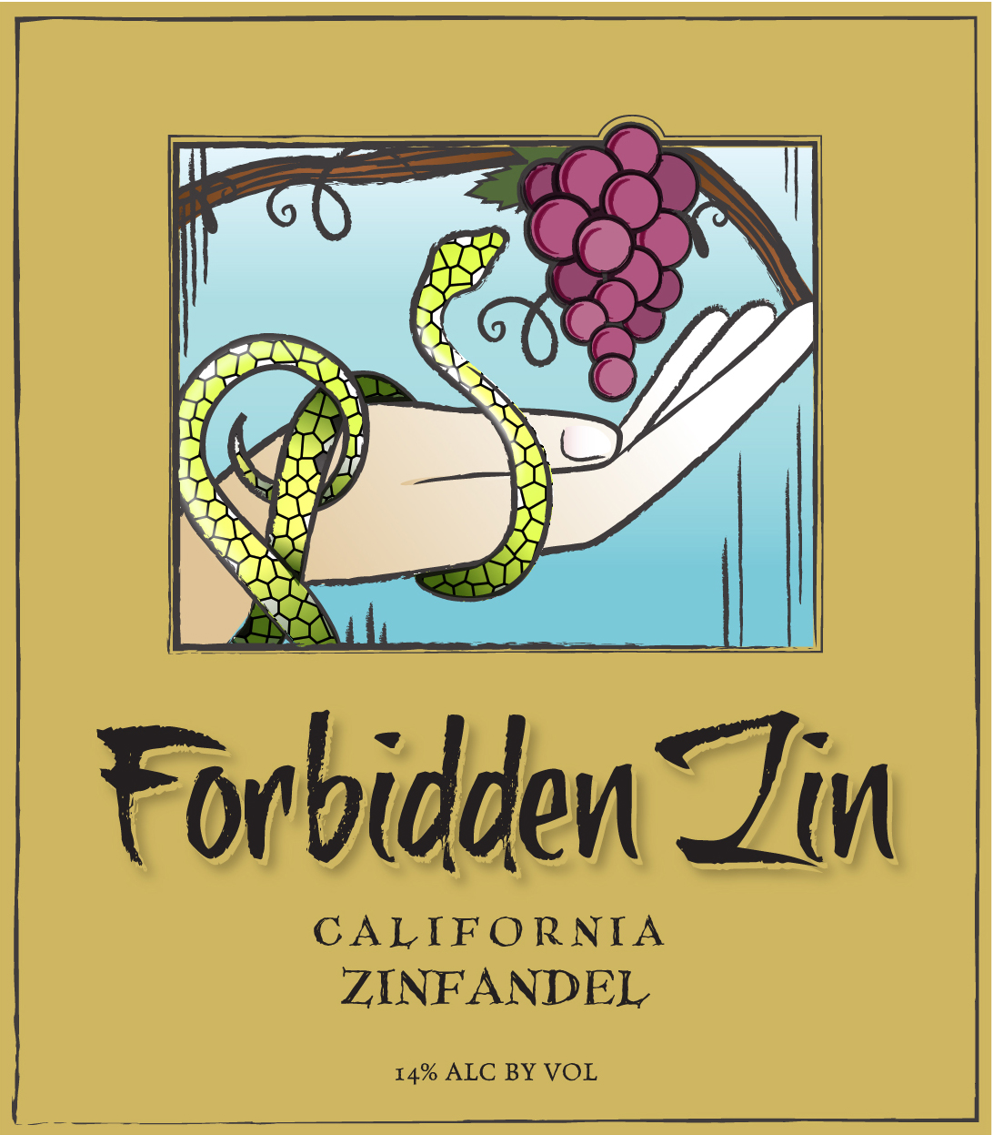 There is something evocative about the forbidden fruit. Forbidden Zin has that same deep, dark, brooding element of silken intrigue and lush excitement. Succulent spicy notes of rich black cherry, tender damsel plum, and juicy raspberry entangle with velvety tannins and become too alluring to resist.