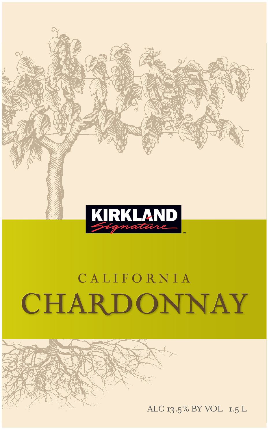 Kirkland Signature California Chardonnay is a classic Chardonnay with vibrant, tropical flavors of pineapple and mango surrounded by fresh notes of peach, brisk green apple and sweet citrus which is polished to a finish with hints of oak, honey and butterscotch.