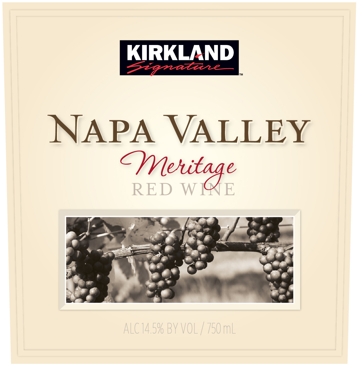 A combination of classical varietals combine to create a finely nuanced blend from the well-drained gravelly loams and silt soils of Napa Valley.  This Meritage has the concentrated notes of black cherry and cassis supported by silky tannins and the spice rack notes of oak and cedar finishing with the velvety notes of rich plum.