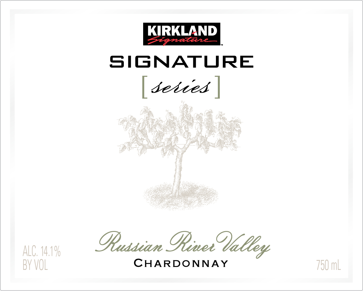 The Kirkland Signature Russian River Valley Chardonnay is a soft and complex reflection of one a most renowned cool-climate regions. This wine displays flavors of green apple, orange zest and lemon curd, complemented by notes of butter and toast. The rich, nutty flavors in this Chardonnay lead to a silky finish, uplifted with mouthwatering acidity and complimented with a luxurious mouthfeel.