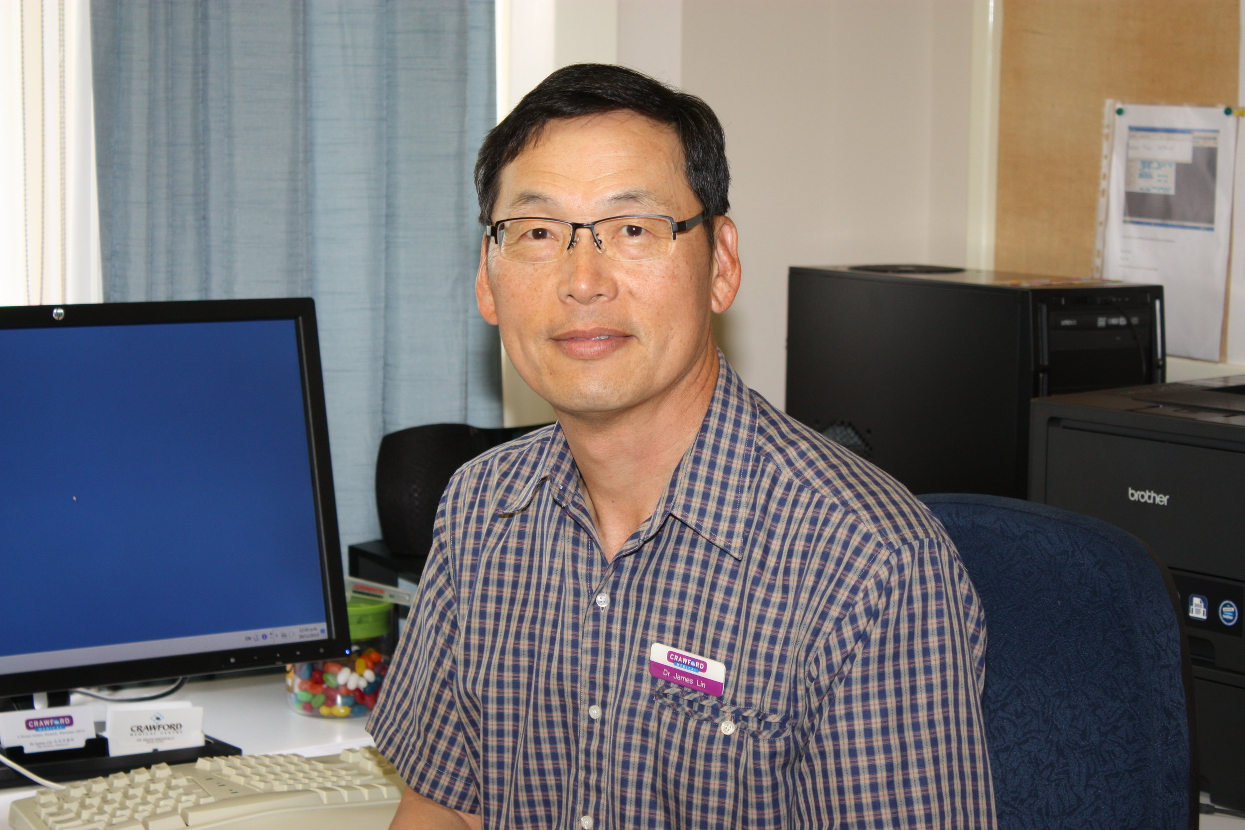 Contact Crawford Medical Centre to book an appointment with Dr. Lin