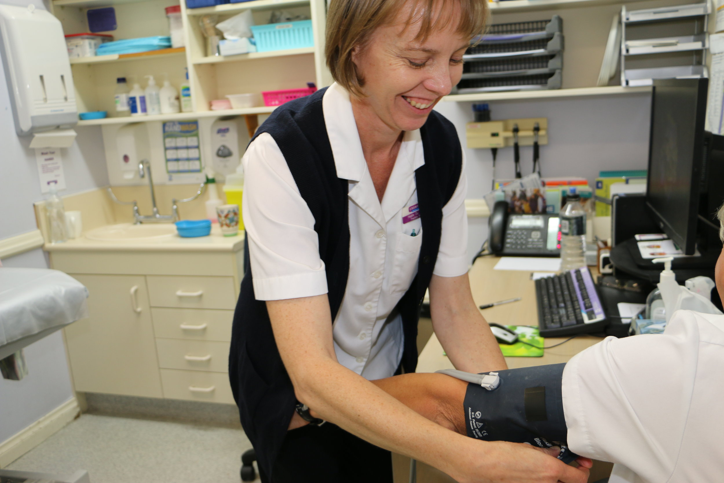 Crawford Medical has a team of very qualified Registered Nurses and Enrolled Nurses who specialise in Immunisations, Phlebotmy and Aclasta to list a few.