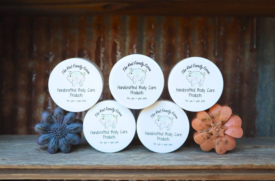 High quality ingredients make The Kost Family Farm Pampered Pig Products the best choice for your pigs' skin care routine.